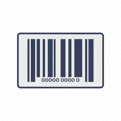 qr code, scan, shopping icon
