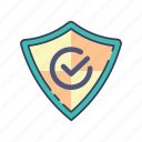 protection, safe, shopping icon