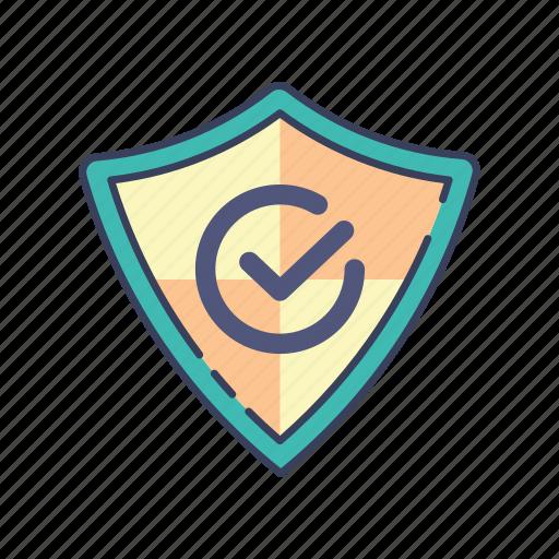 protection, safe, shopping icon