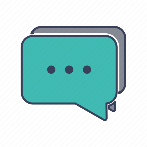 chat, help, message, shopping icon