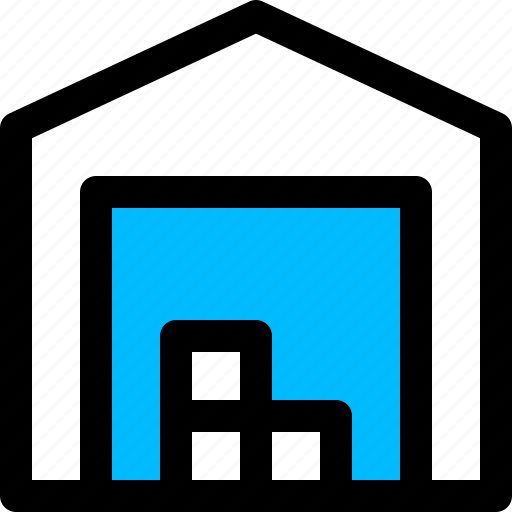 crates, delivery, shopping, storage, warehouse icon