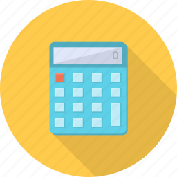accounting, calculate, calculator, financial, shopping, technology icon