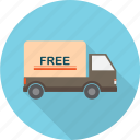 delivery, e-commerce, free, service, shipment, shipping, shopping icon