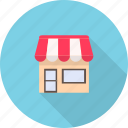 building, e-commerce, market, retail, shopping, store, supermarket icon
