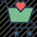basket, dolly, shopping, trolley icon
