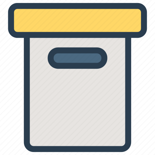 box, crate, package, parcel icon