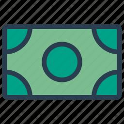 budget, cash, dollar, money icon