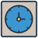 clock, schedule, time, watch icon