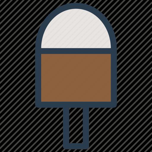 cone, cream, ice, popper icon