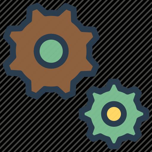 config, configuration, gear, setting icon