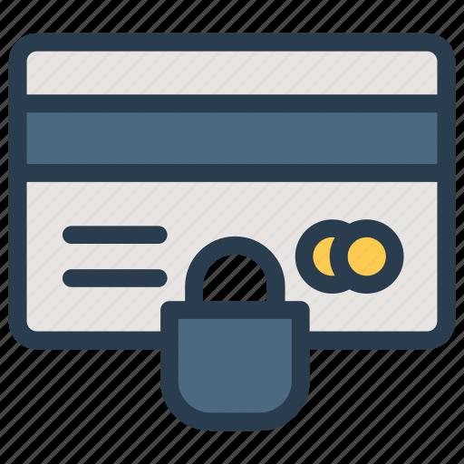 card, credit, debitcard, lock icon
