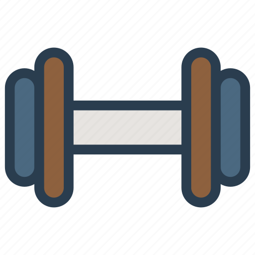 dumbbell, exercise, fitness, weight icon