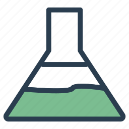 experiment, flask, lab, test icon