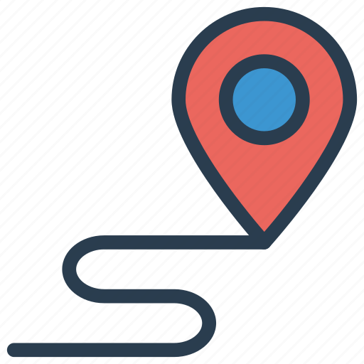 location, map, marker, pointer icon