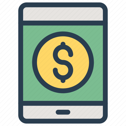 mobile, online, pay, payment icon