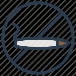 avoid, ban, block, smoking icon
