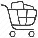cart, grocery, shopping icon