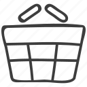basket, ecommerce, shopping