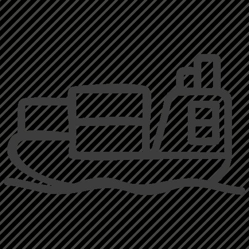 Cargo, logistics, ship icon - Download on Iconfinder
