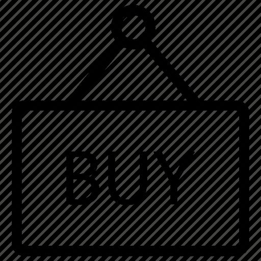 board, buy, label, tag icon