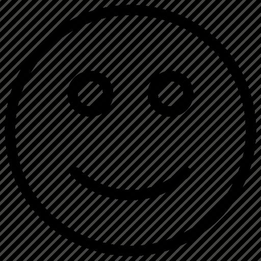 emoji, face, happy, smiley icon