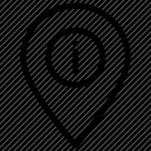 error, location, navigator, pointer icon