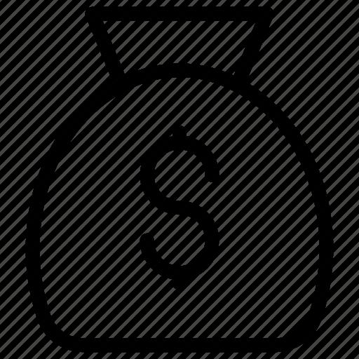 Bag, cash, dollar, money icon - Download on Iconfinder