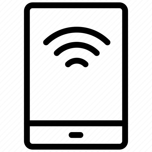 mobile, signal, technology, wifi icon