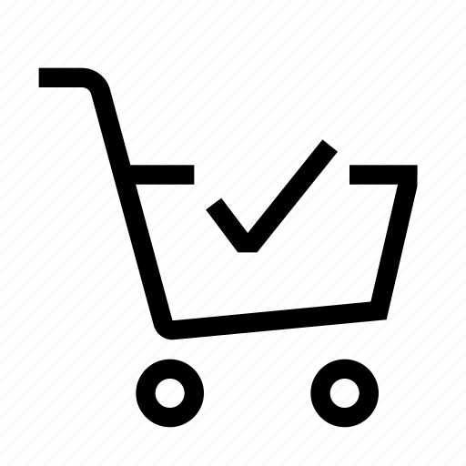 buy, cart, check, ecommerce, online, shop, shopping icon