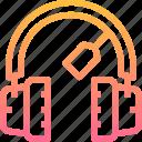 audio, earphone, headphones, music, sound icon