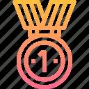 award, champion, medal, top, winner
