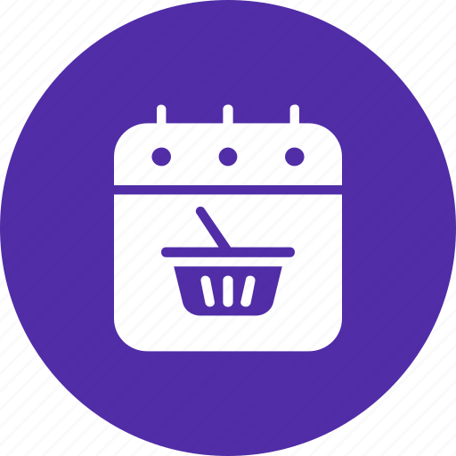 black friday, calendar, date, event, purchase, shopping icon