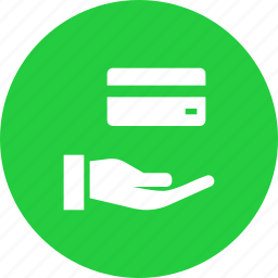 accept, banking, card, credit, debit, purchase, shopping icon
