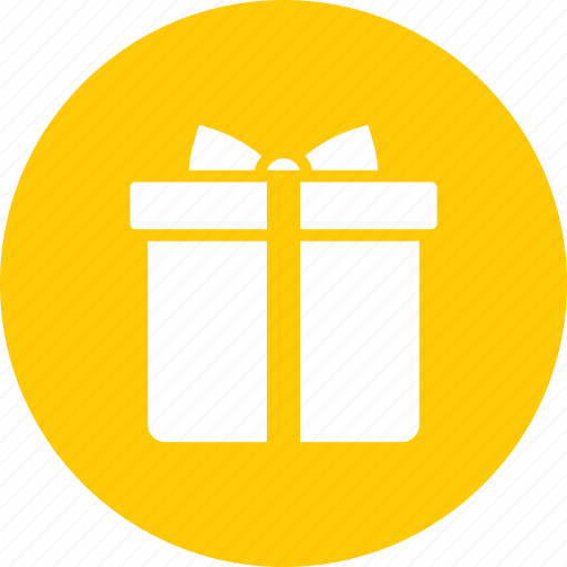 birthday, box, christmas, gift, packed, present, wrap icon