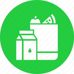 food, groceries, grocery, milk, shop, shopping icon