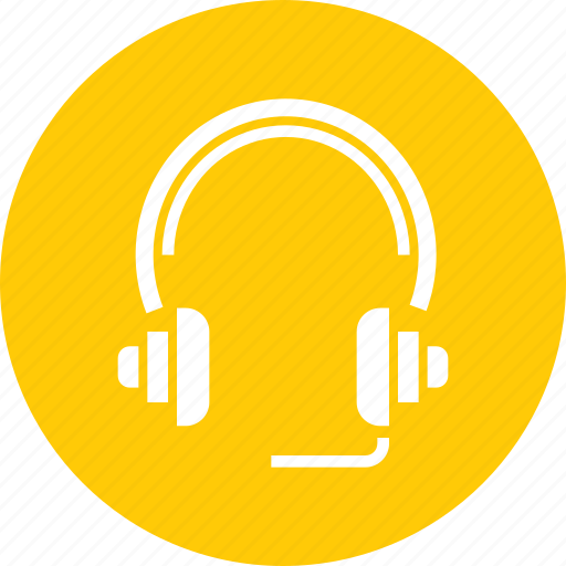 headphones, headset, hear, listen, music, songs icon