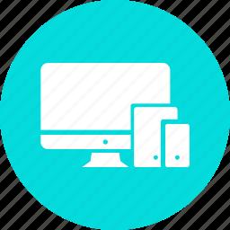 apple, device, electronic, gadget, imac, ipad, iphone icon