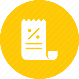 bill, cost, expenditure, invoice, purchase, shopping, statement icon