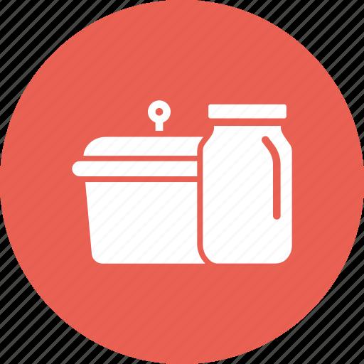cook, jar, kitchen, store, utensil icon