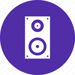 deejay, loud, music, noise, speaker, woofer icon