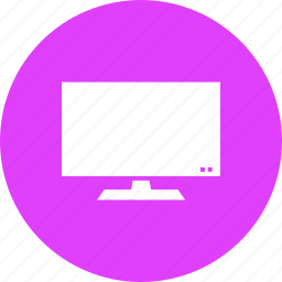 computer, device, display, lcd, monitor, screen, tv icon