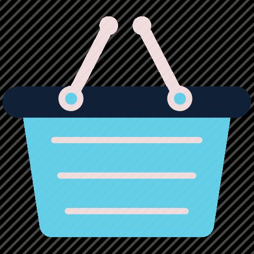 Basket, cart, commerce, shopping basket icon - Download on Iconfinder