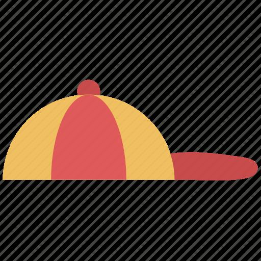 baseball cap, cap, hat, headwear icon