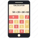 app, calculator, mobile, smartphone icon