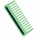 comb, hair, hugiene, hygiene icon
