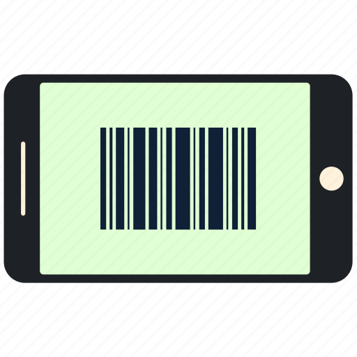 barcode, mobile, phone, scan, scanner, tag icon