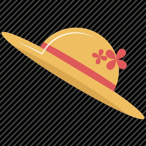 dress, girl hat, hat icon