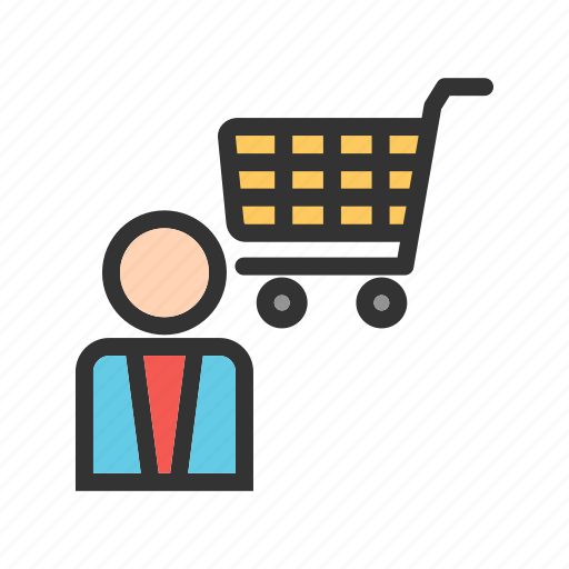 assistant, business, customer, retail, shop, store icon