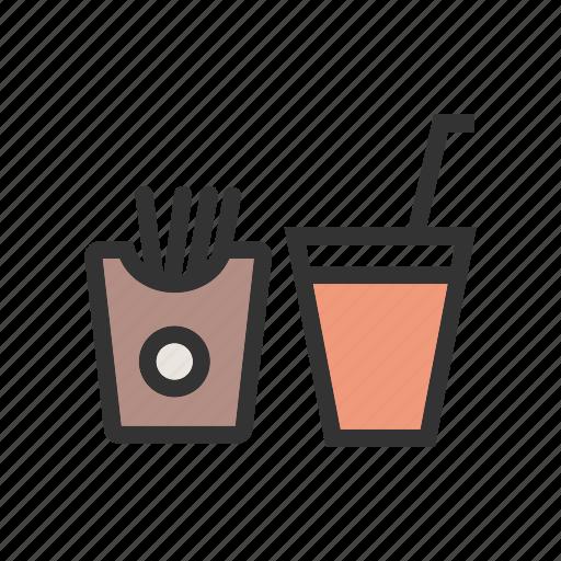 drink, fast, food, label, lunch, menu, restaurant icon