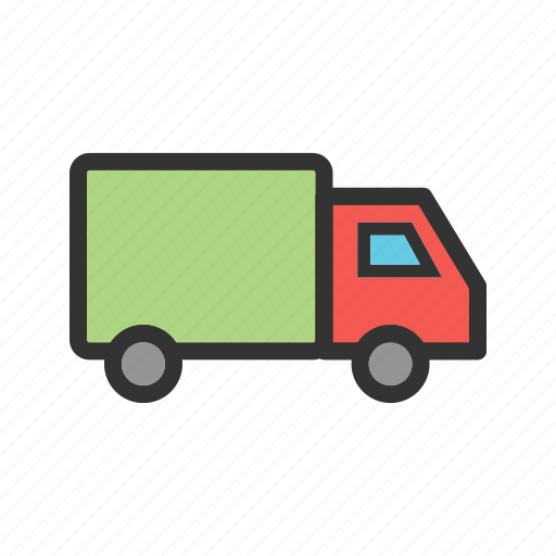business, cargo, delivery, industry, transportation, truck, van icon